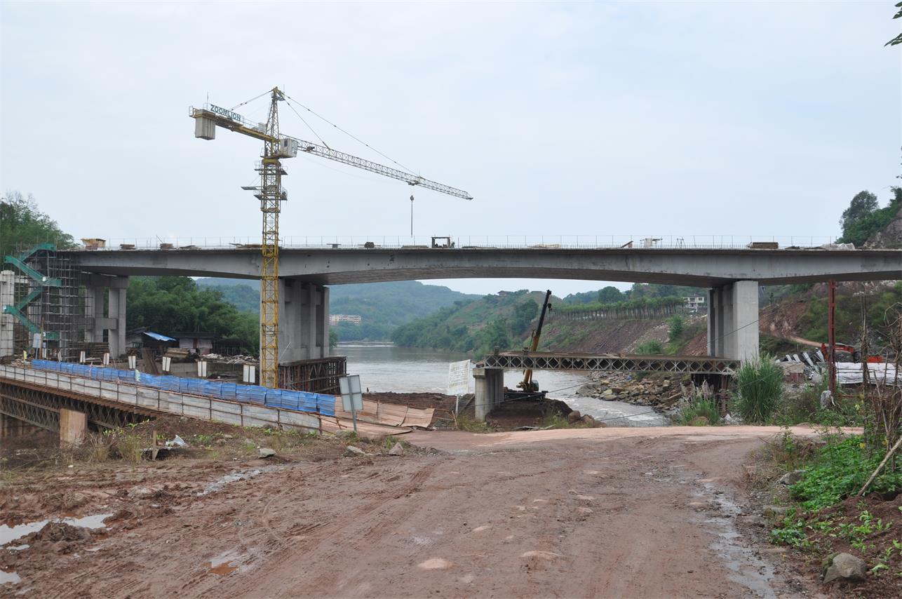 貴州某橋梁裂縫治理項目