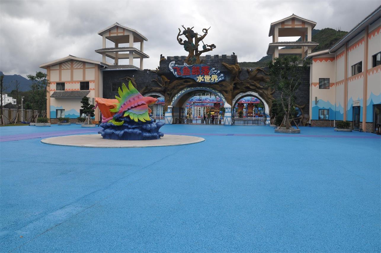 习水县土城希望小镇文化景观建设项目华润希望乐园工艺景观分包