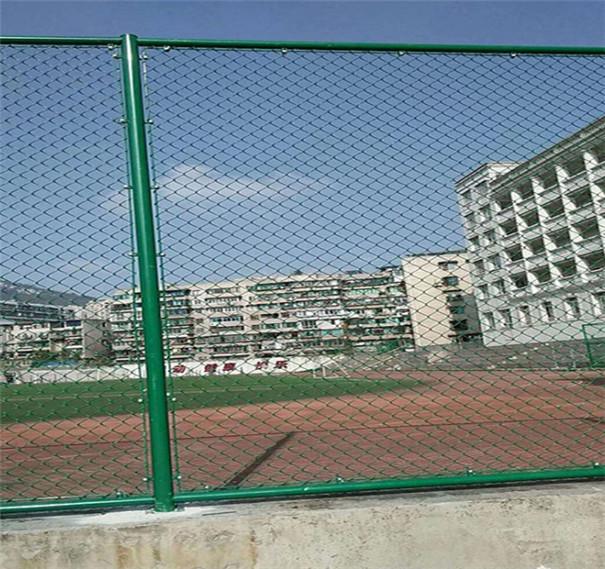安平博高厂家供应体育场围网 2019年新款学校操场勾花网