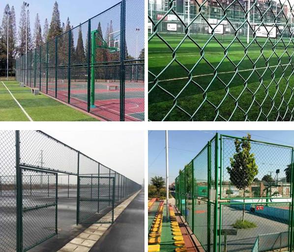体育场围网做好这几点可防止生锈,影响美观!