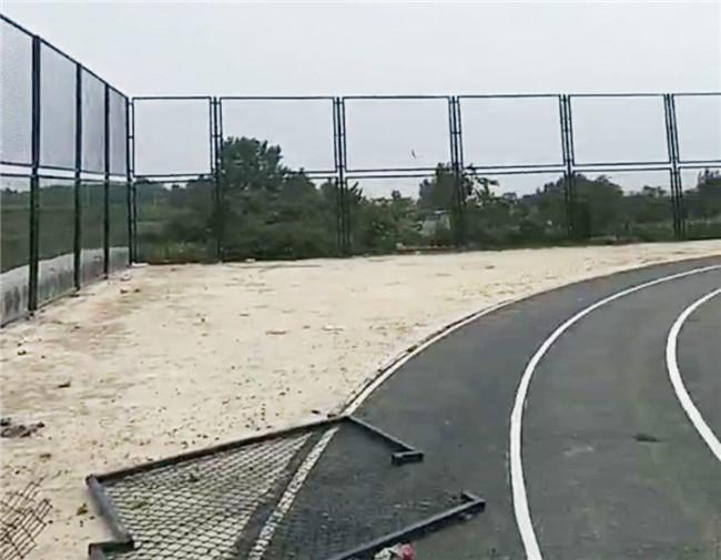 河北学校体育场围网图