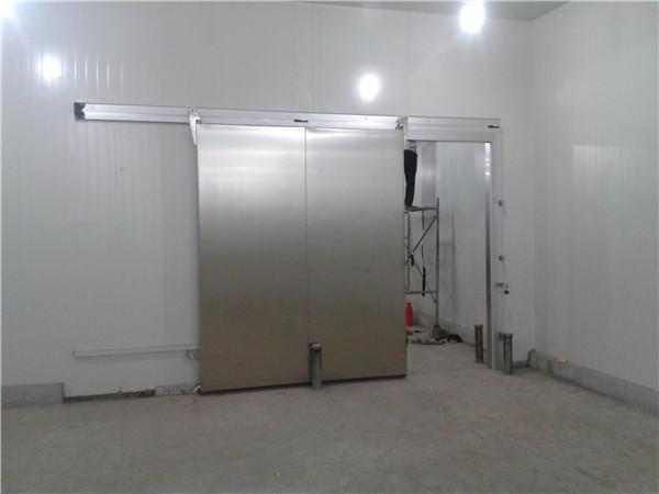 成都冷库不锈钢平移门