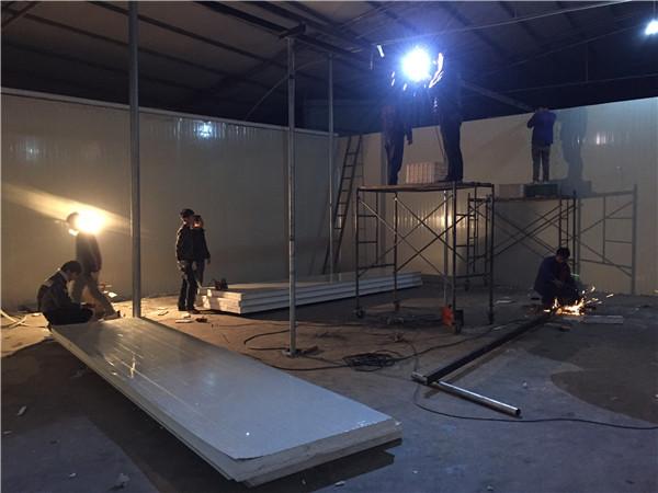 四川烘干房工程设计安装现场