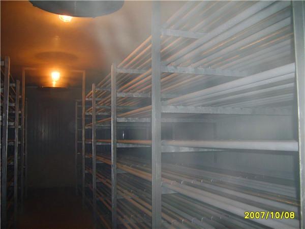 遂寧市某食品廠擱架排管速凍庫