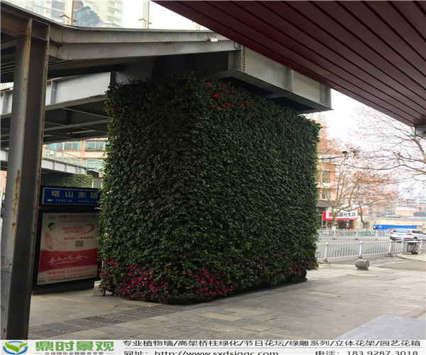 高架桥柱陕西立体绿化