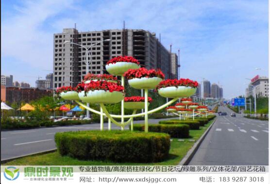 陕西立体绿化-立体花架优势