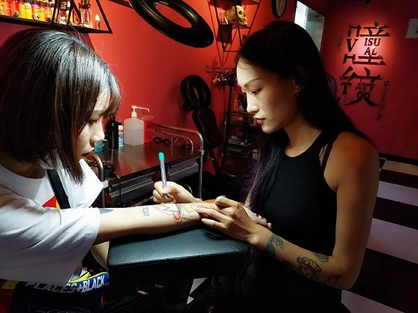 纹身将成为生命的一部门