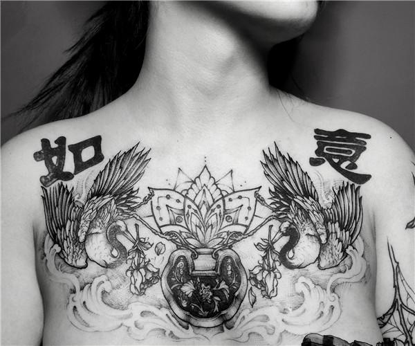 武汉原创纹身-如意