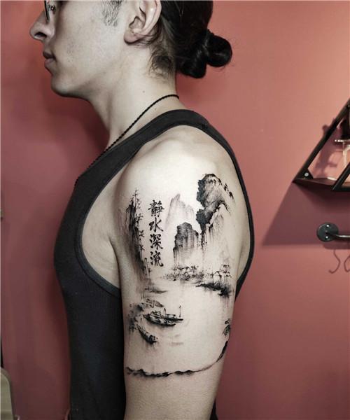 武汉原创纹身-静水深流