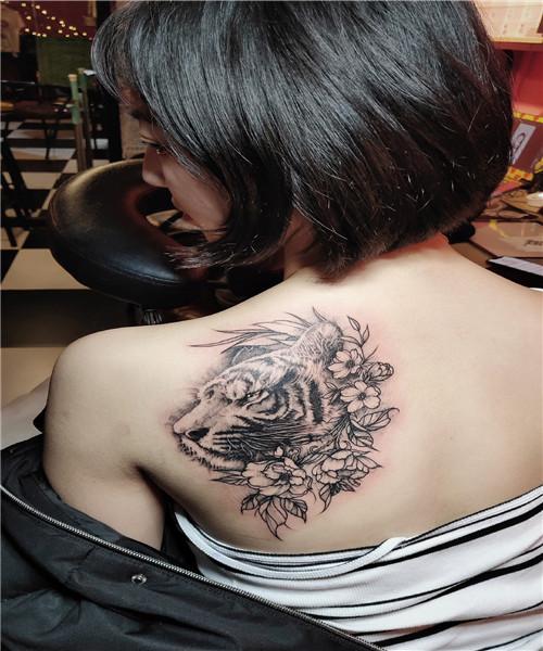 原创纹身-虎