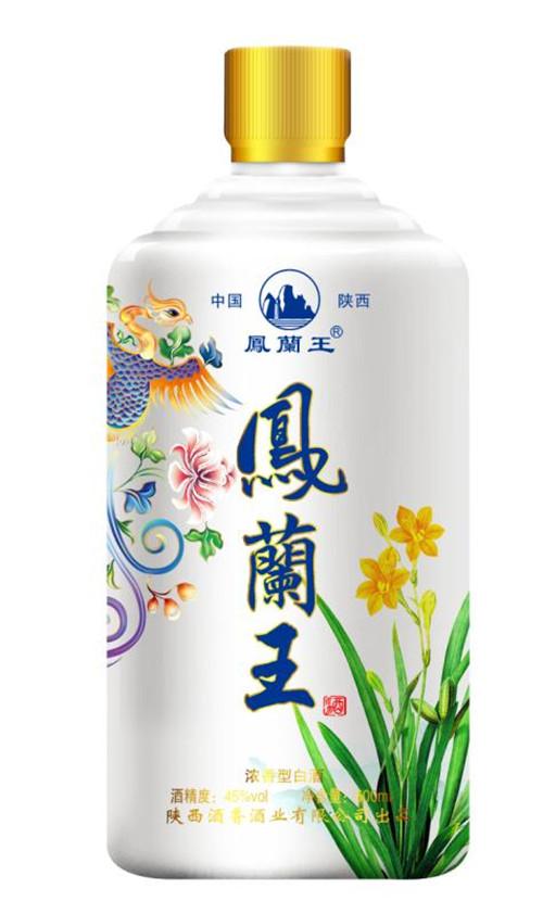 陕西浓香型白酒---凤蘭王系列-500ml