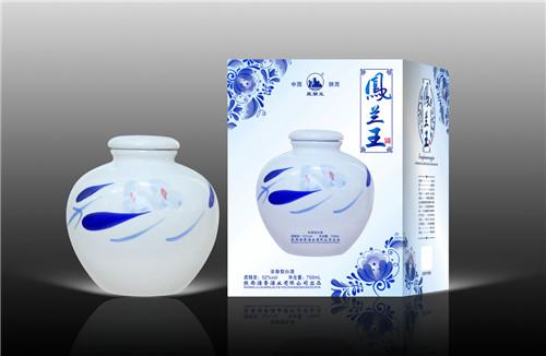 陕西白酒---凤蘭王系列-10年 900ml