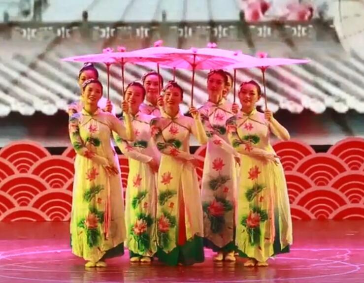 襄阳中国舞培训老师表演视频
