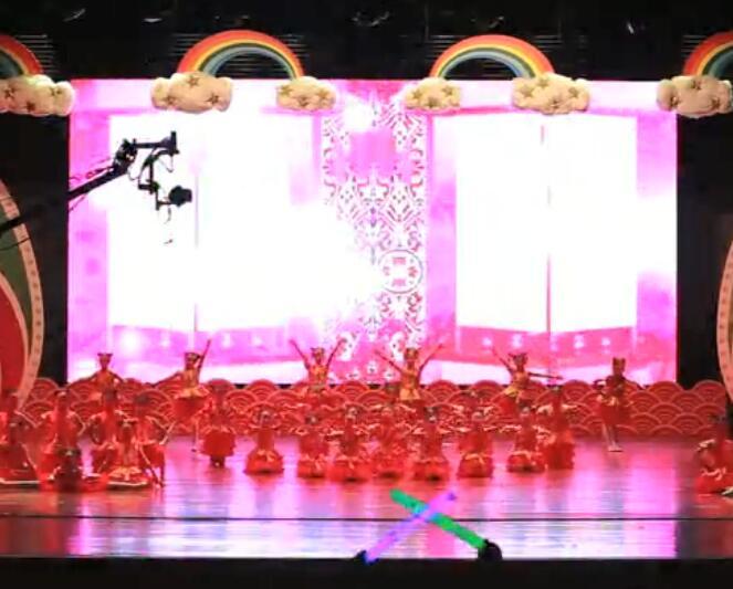 襄阳少儿舞蹈培训《较美中国娃》