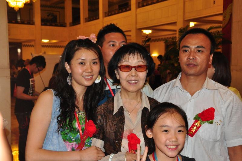 襄阳中国舞培训合照