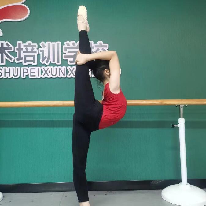 少儿舞蹈练习基本功培训现场