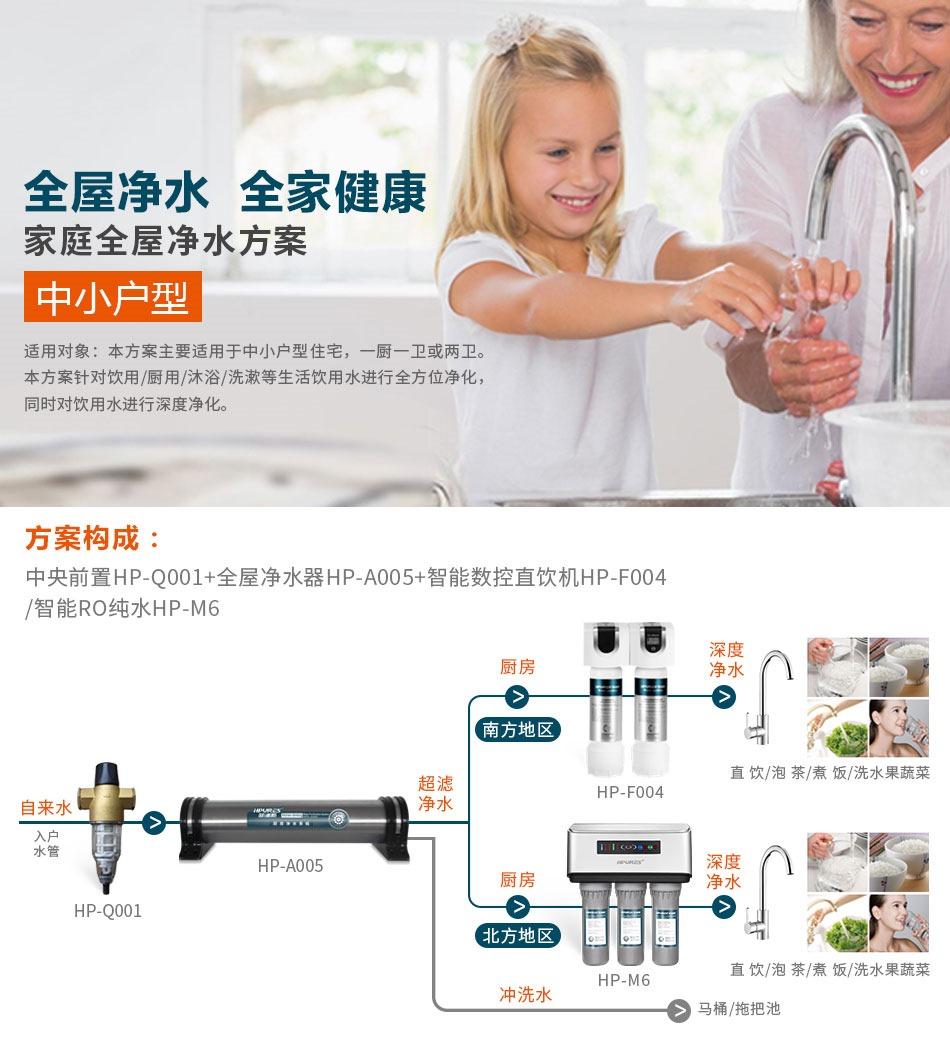 成都全屋净水系统:全屋净水 全家健康