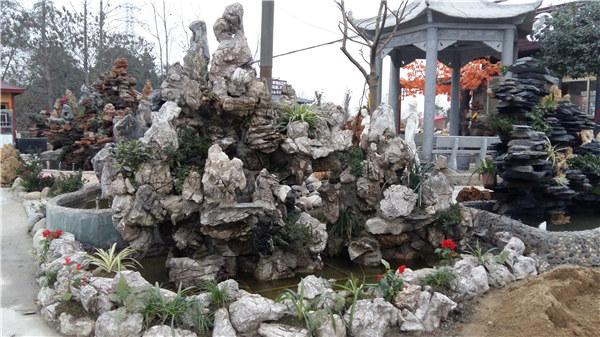 成都龟纹石假山