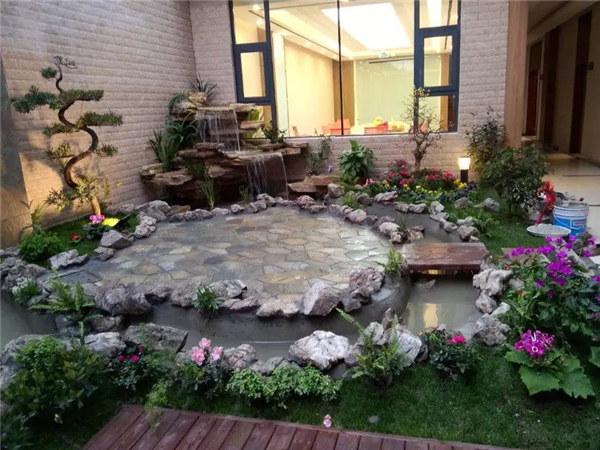 成都私家花园制作合作客户