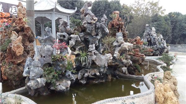 成都太湖石假山制作