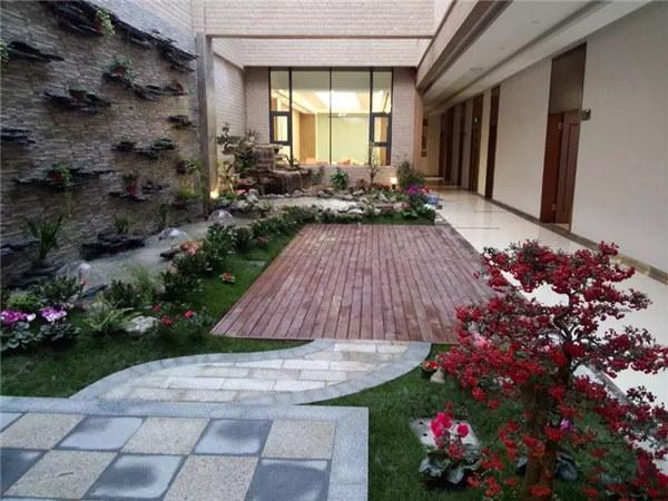 成都私家花园制作工程