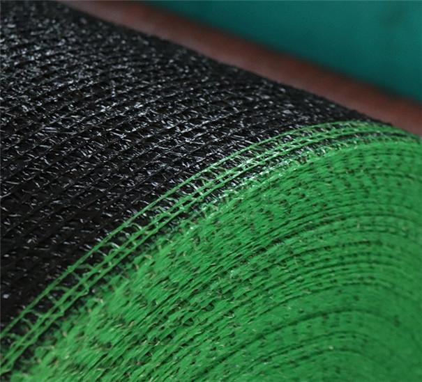 聚乙烯黑色扁丝防尘防晒网