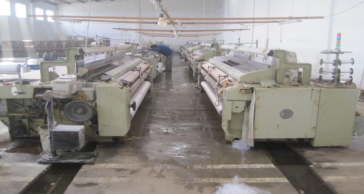 衡水英森丝网制品公司工厂一角