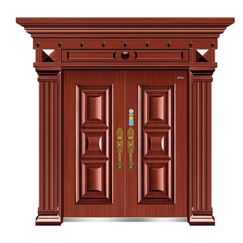 仿红铜新疆防盗门