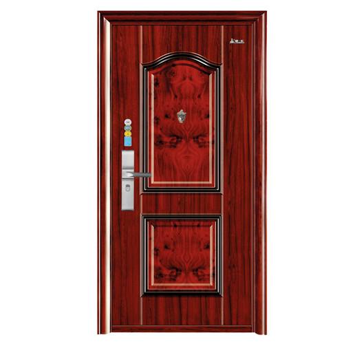 红木纹转印套房-新疆防盗门