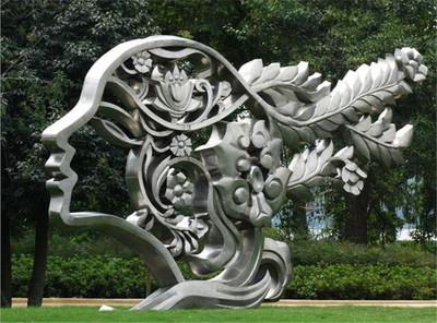 四川不銹鋼雕塑制作的流程