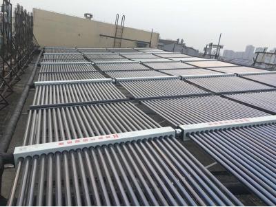 淄博柳泉艺术学校阳台壁挂太阳能整体项目