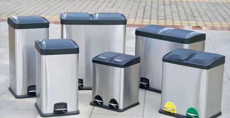 西安户外不锈钢垃圾桶
