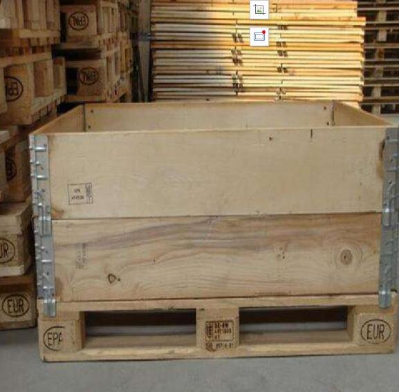 出口熏蒸松木木包装箱箱