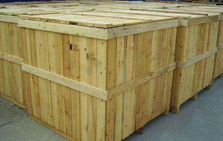 东越机电小编告诉你木包装箱防水处理的方式