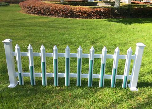 pvc草坪護欄