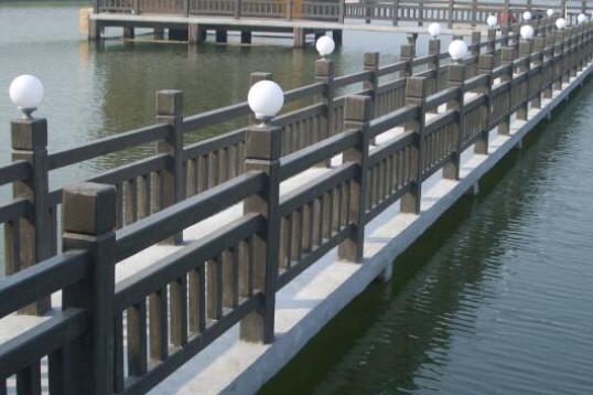 橋梁防撞護欄安裝圖
