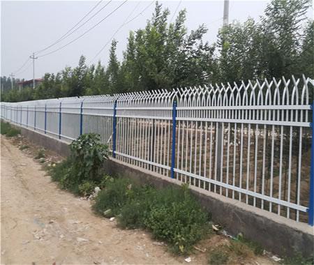 河北锌钢围墙护栏