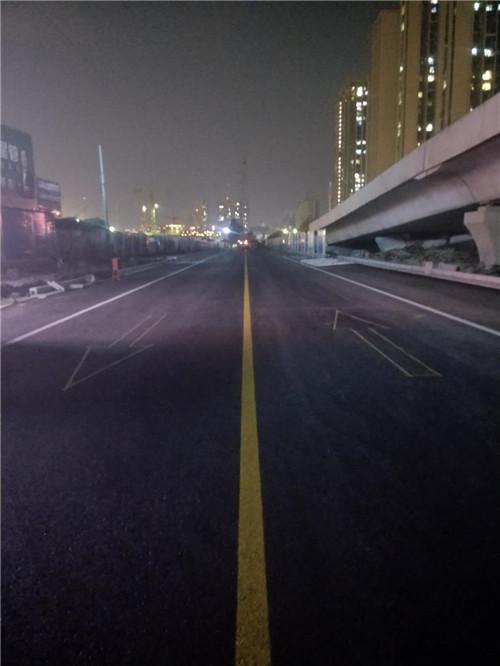 河南道路划线施工