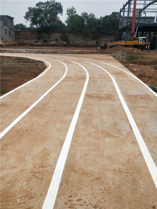 球场跑道划线