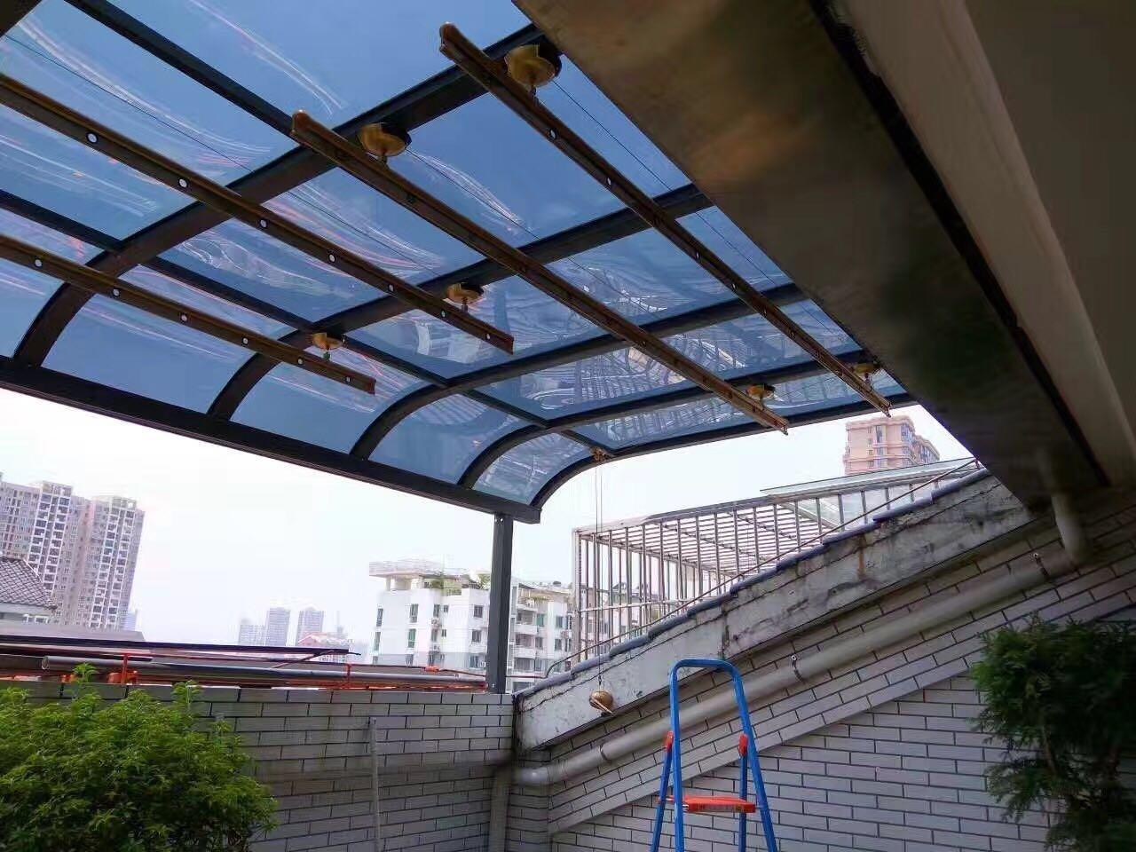 四川铝合金雨棚客户见证