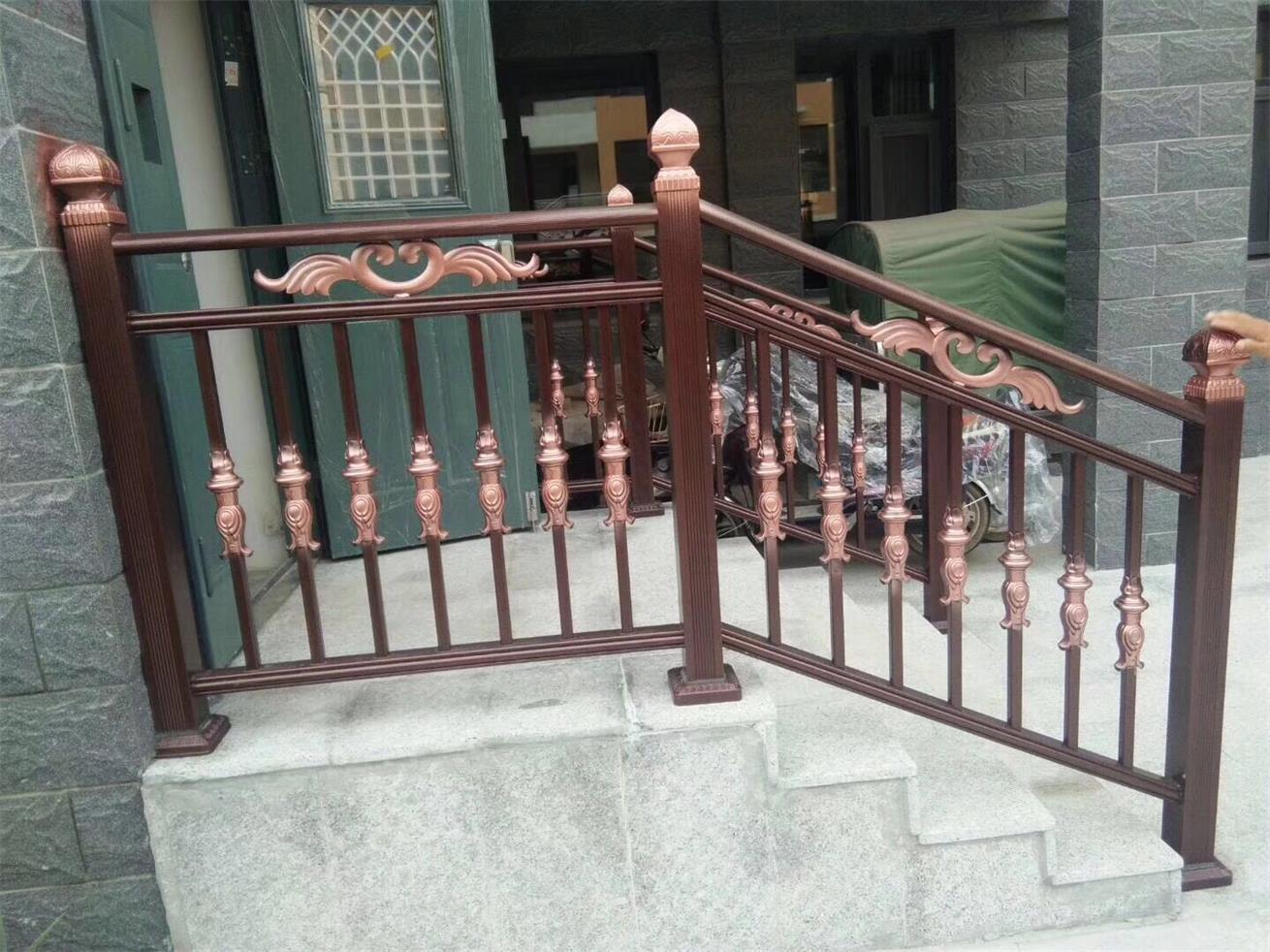 四川铜艺栏杆