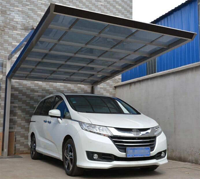 四川铝合金雨棚车棚施工方案