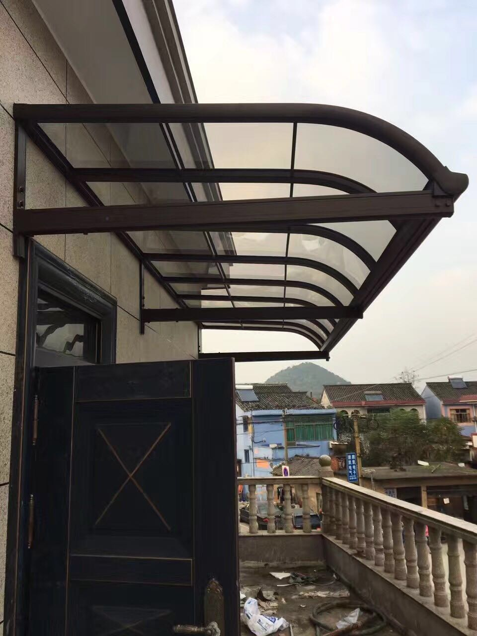 四川铝合金雨棚合作客户