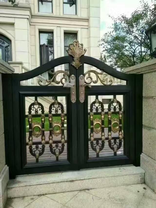 厂家定制铝合金庭院门