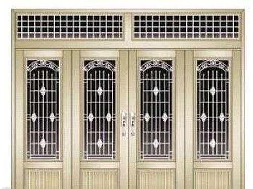 四川铝合金大门如何选择门锁对应的等级!