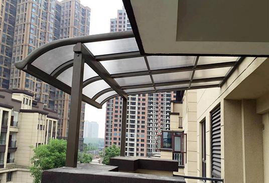 四川阳光雨棚的产品安装