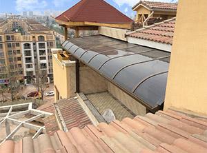 四川铝合金雨棚和玻璃钢雨棚的区别