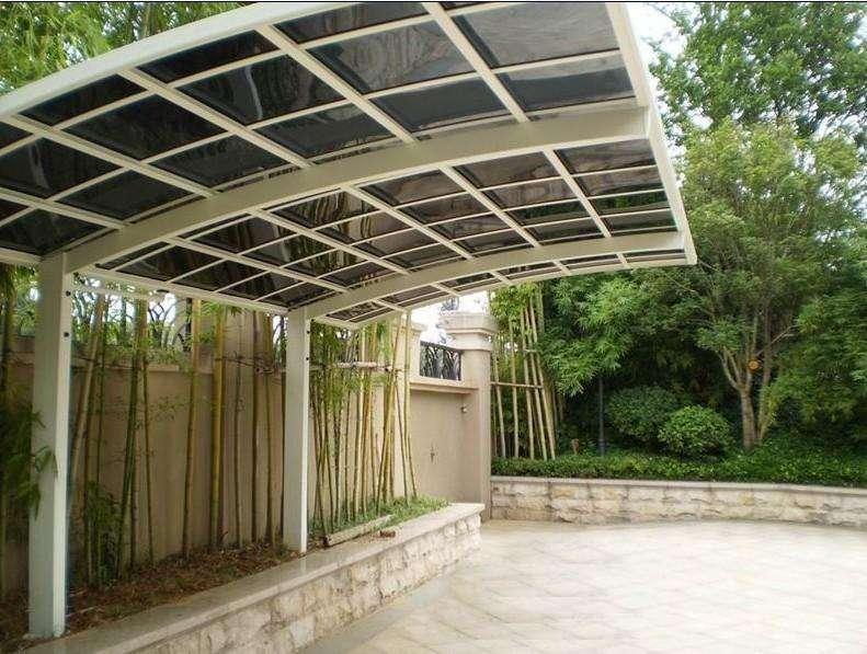四川铝合金雨棚好处多多,为什么不安装呢?