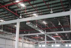 重庆市保税港区大型仓库安装LED重庆工矿灯