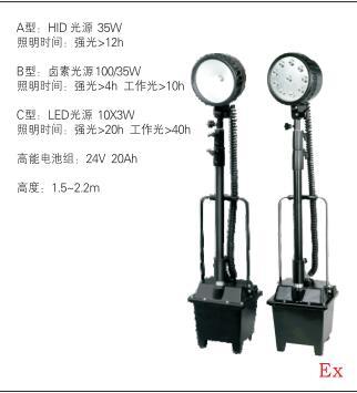 四川防爆燈(防爆工作燈)